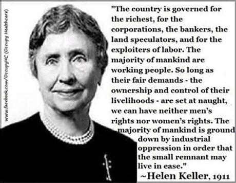 Image result for Helen keller socialist